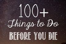 ★Things to do in my life✦