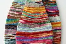 Beanies to knit and to crochet / Crocheted or Knitted Hats/Beanies