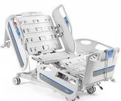 Gamma3 Electric beds / With an innovative design, Gamma3 beds can be an answer to specific ward demands. Improvement of patient clinical outcome results, increase of ward personnel productivity, decrease of operating costs, facilitation of sanification and maintenance.