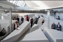 Awesome Office Spaces / Inspiration about workplace culture, work space collaboration, healthy work environments and spaces that inspire employees.