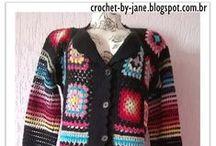 Crochet - Coats (Casacos)
