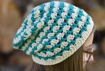 Crochet - Beret\Beanie\Hat\Cap (Boina\Gorro\Chapéu\Boné)