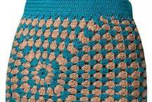Crochet - Skirts (Saias)