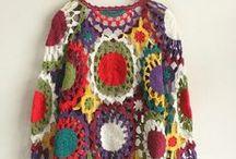 Crochet - Long Sleeve Blouse (Blusa Manga Longa)
