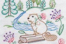 Embroidery - Animals (Bordado Animais)