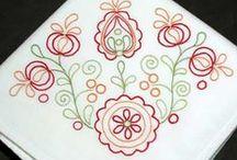 Embroidery - Flowers (Bordado Flores)
