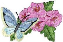Embroidery - Butterflies (Bordado Borboletas)