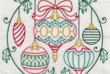 Embroidery - Xmas (Bordado Natal)