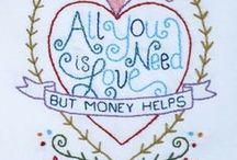 Embroidery - Hearts (Bordado Corações)