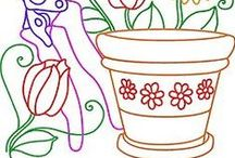 Embroidery - Garden (Bordado Jardim)