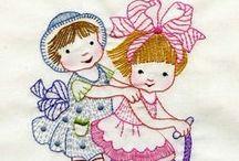 Embroidery - Kids & Babies (Bordado Crianças e bebês)