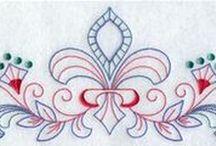 Embroidery - Scrollworks (Bordado Arabescos)