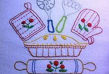 Embroidery - Kitchen (Bordado Cozinha)