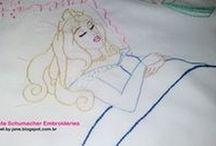 Embroidery - Fairy Tales (Bordado Estórias Infantis)
