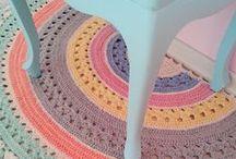 Crochet - Rugs (tapetes)