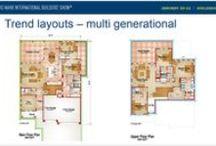 Generational Trends in Home Design / #BabyBoomers #Millennials #GenerationX #Multigenerational #Retired