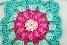 Crochet - Granny Square\Ripple\blanket (Quadrados\Mantas) / Padrões de QUADRADOS, RIPPLE e MANTAS