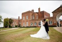 Wedding of the Month - June 2015 / Sam and Nikhil's wedding photos. Another beautiful day at Braxted Park in Essex, with lovely yellow and green details. With stunning yellow flowers and lemon centre pieces and stunning jade bridesmaid dresses.