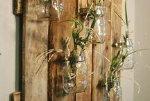 DIY Wohnung / Holz / Natur