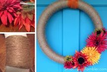 Fall Decor / Fall decorating