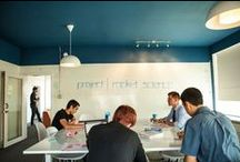 Co-Working Spaces / Co-working spaces, Urban design, entrepreneurial, technology, flexible work, multifamily communities.
