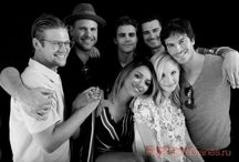 THE VAMPIRE DIARES/ THE ORIGINALS / The Salvatore brothers and The Original family