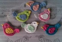Crochet - Appliques (Apliques de crochê)