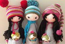 Crochet - Dolls (Bonecos Crochê)