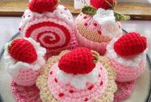 Crochet - Candies (Cupcake\Donuts\Cookies)