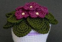 Crochet - Flowers (Flores)