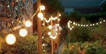 Wedding Lighting Ideas / Light up the night