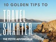 """The Savvy Traveler / This is a collaborative collective of travel hacks, general travel tips, personal finance to fund travel aspirations, and """"how-to's"""" to jumpstart the travel dream! Please do not pin destination-specific posts. If you want to be added to the group, email thepetiteadventurer@gmail.com. Thanks much!"""