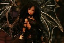 Gothic & Gothic Lolita BJD styles / by Think Pink!