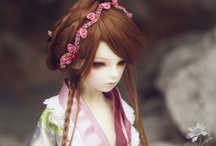 Asian BJD styles / by Think Pink!