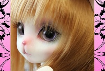 Kitty♥Bunny♥Bear Ball Jointed Dolls / by Think Pink!