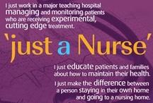 My ❤️ 4 Nursing / Everything about Nurses  / by Sonya Brown