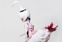 Therianthrope (half animal) BJD's / by Think Pink!