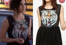 Pretty Little Liars Style & Clothes by WornOnTV / Fashion from Pretty Little Liars (PLL) on ABC Family