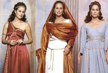Well- Dresssed Ancient Roman Woman / Clothes/jewelry women wore during the glory days of Rome...this was the inspiration for my novel Healer of Carthage.
