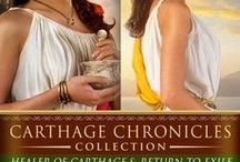 My Books - The Carthage Chronicles / A Twenty-First Century Doctor. A Third Century Plague. A Love Out of Time. My Time Travel Novels launch modern women into ancient adventures.