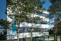 Medical architecture / The UVEA Mediklinik complex includes an eye clinic, optics and fully equipped pharmacy. It is built on the basis of a special project that meets the most stringent EU requirements for highly specialized medical facility.