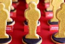 Red Carpet-worthy Desserts / Get ready for the red carpet with these Academy Awards party ideas & recipes.