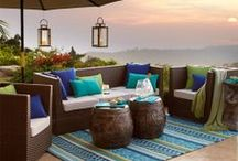 outdoor furniture / looking forward to warm weather and cool nights