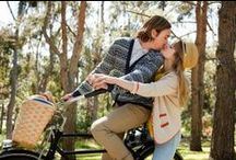 Biking / A kiss is the most meaningful and emotionally expressive in all of man's actions and gestures. It serves people to keep each others relationship and intimacy or heals pain and ease anguish.