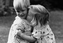 Children Kissing Children / A kiss is the most meaningful and emotionally expressive in all of man's actions and gestures. It serves people to keep each others relationship and intimacy or heals pain and ease anguish.
