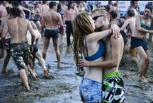 Mud Kiss / A kiss is the most meaningful and emotionally expressive in all of man's actions and gestures. It serves people to keep each others relationship and intimacy or heals pain and ease anguish.