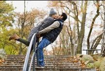 Stairs Kiss / A kiss is the most meaningful and emotionally expressive in all of man's actions and gestures. It serves people to keep each others relationship and intimacy or heals pain and ease anguish.