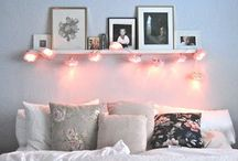 Home / Home sweet home  Inspiration for my own room  / by Alice Hill