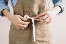 Kitchen Fashion - All great bakers need an apron! / Stylish, wacky, silly, and fun apron inspiration.