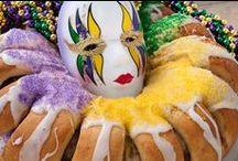 Mardi Gras King Cake & more / Mardi Gras desserts
